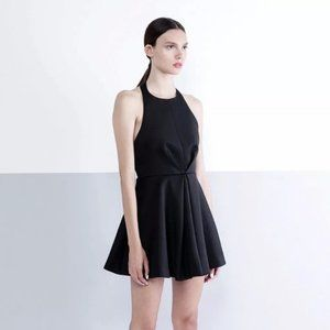 Keepsake Black Chained Mini Dress Small